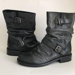 Matisse Triump Leather Moto Boots